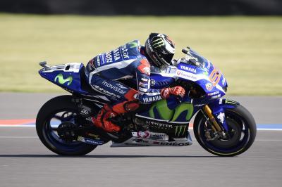 Lorenzo: «No he podido utilizar dos motos en la Q2»