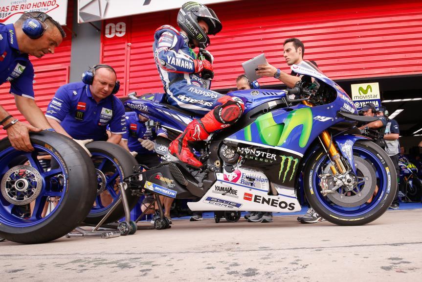 Jorge Lorenzo, Movistar Yamaha Motogp, Gran Premio Motul de la República Argentina