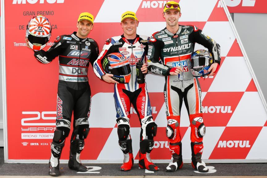 Sam Lowes, Federal Oil Gresini Moto2, Johann Zarco,Ajo Motorsport, Jonas Folger, Dynavolt Intact GP, Gran Premio de la República Argentina