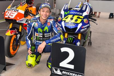 """Rossi : """"Il va être difficile de nous battre avec Márquez"""""""