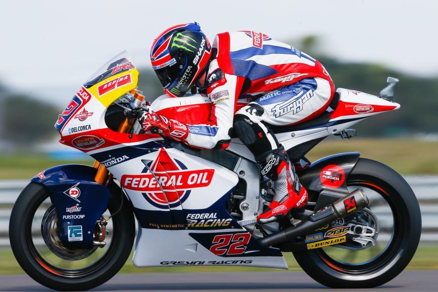 Sam Lowes, Federal Oil Gresini Moto2, Gran Premio de la República Argentina