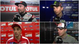 The fastest MotoGP™ riders give us feedback on their race results at the #ArgentinaGP.