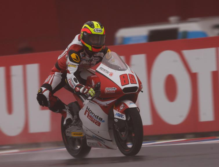 Pawi Khairul Idham, Honda Team Asia, Gran Premio Motul de la República Argentina