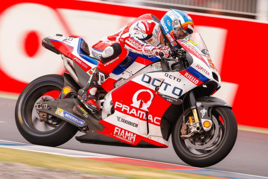 Michele Pirro, Octo Primac Yakhnich,  Gran Premio Motul de la República Argentina