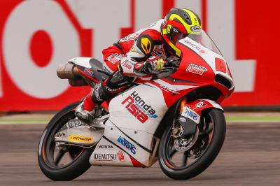 Moto3™: Pawi gewinnt in Mischbedingungen von Argentinien