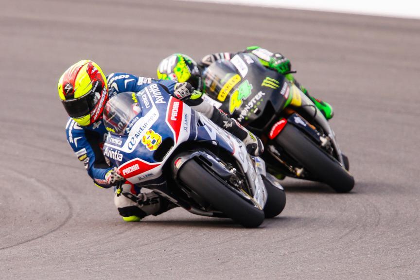 Hector Barbera, Avintia Racing, SPA 44  Pol Espargaro, Monster Yamaha Tech 3, Gran Premio Motul de la República Argentina