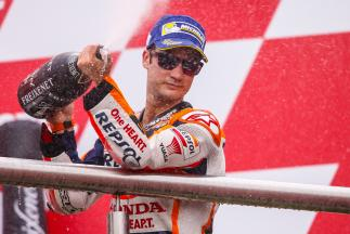 "Pedrosa: ""This was maybe the luckiest day of my career"""