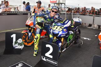 """Rossi: """"I had big problems with the rear tyre"""""""