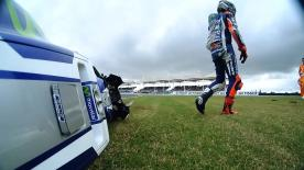 Jorge Lorenzo's 2016 MotoGP™ World Championship campaign suffered an unfortunate upset as he crashed out of the Argentina GP