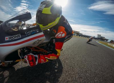 Test oficial de la Red Bull Rookies Cup en Jerez