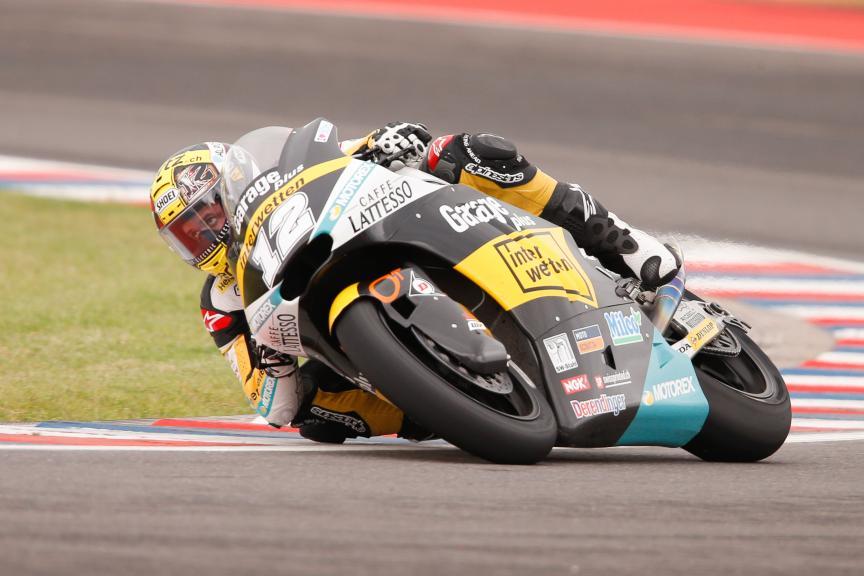 Thomas Luthi, Garage Plus Interwetten, Gran Premio Motul de la República Argentina