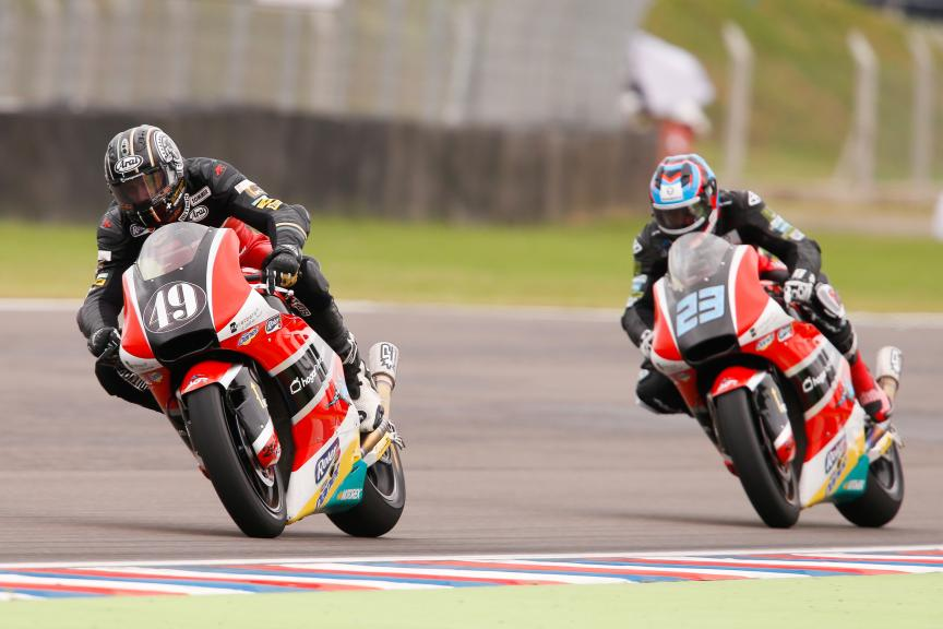 Axel Pons and Marcel Schrotter, Agr Team, Gran Premio Motul de la República Argentina