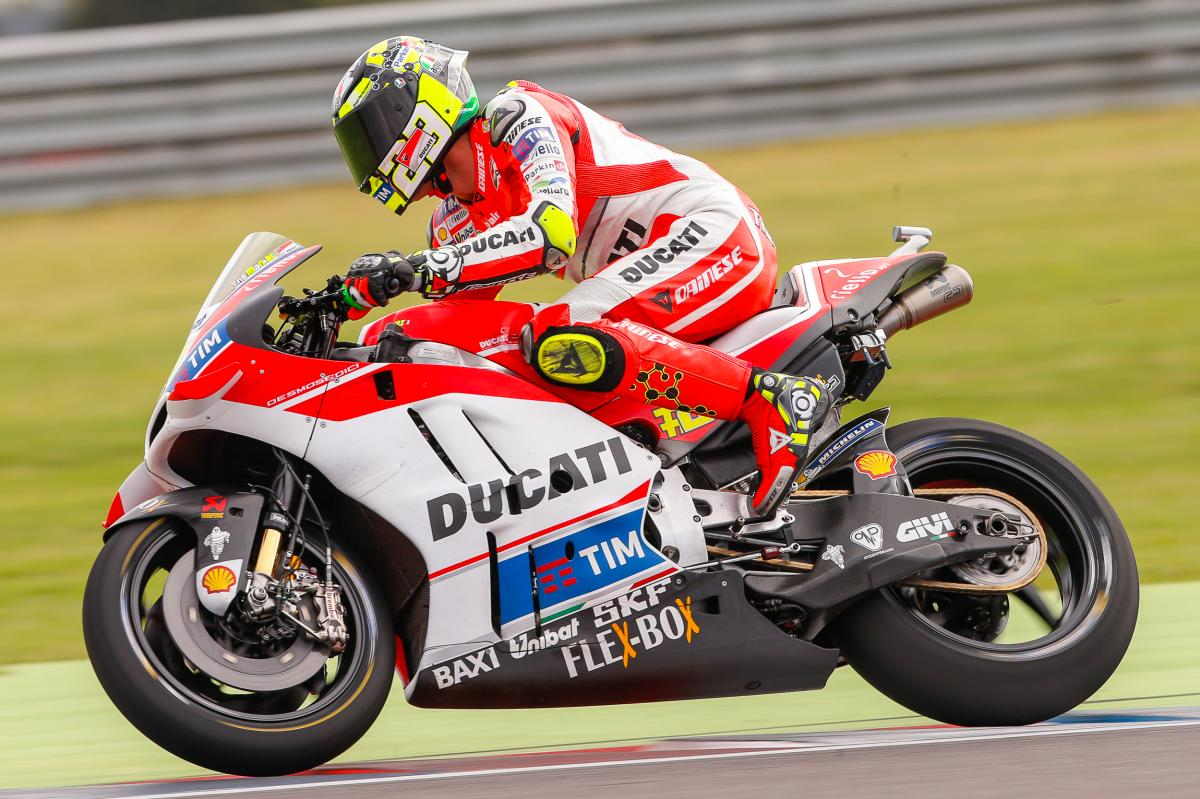 "Iannone: ""I lost the front and brought down Dovizioso"""