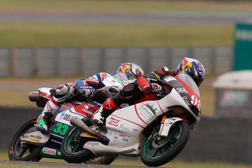 Karel Hanika, Enea Bastianini, Gresini Racing Moto3, Platinum Bay Real Estate, Gran Premio Motul de la República Argentina