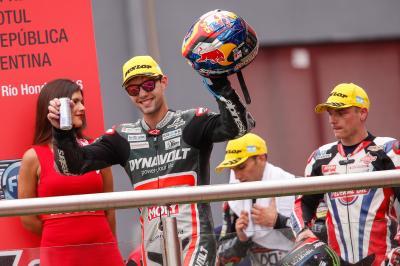 Folger: «Es una sensación fantástica subir al podio»