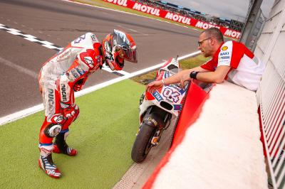 "Dovizioso: ""Everyone could see what happened"""