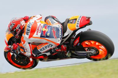 "Marquez: ""The track rewards strong acceleration"""