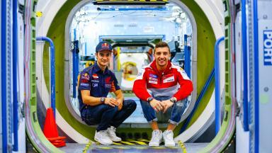 Le MotoGP™ rend visite à la NASA à Houston