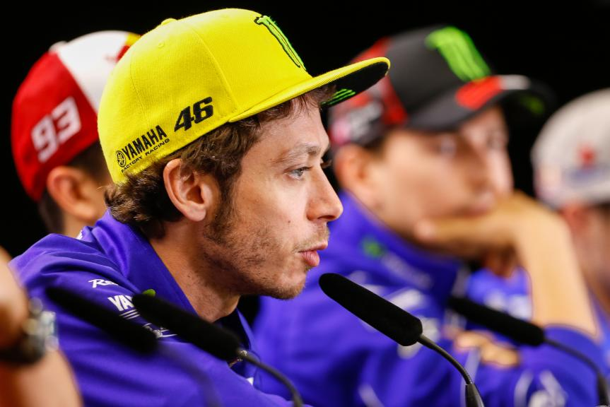 Valentino Rossi, Movistar Yamaha MotoGP, Press conference, Red Bull Grand Prix of The Americas