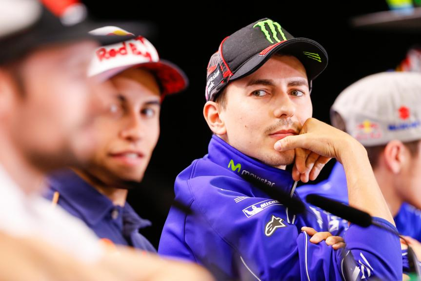 Jorge Lorenzo, Movistar Yamaha MotoGP, Press conference, Red Bull Grand Prix of The Americas