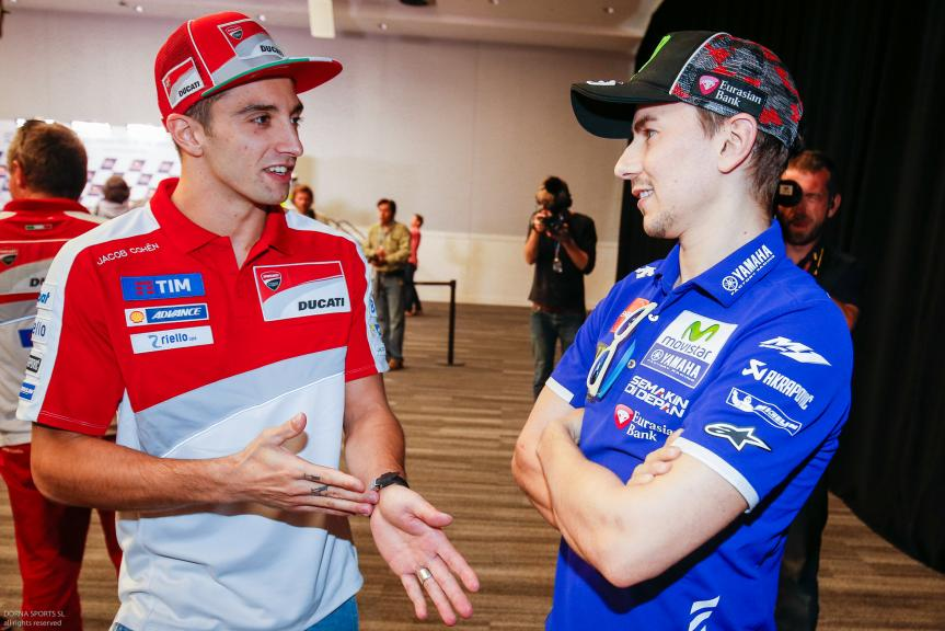 Andrea Iannone, Ducati Team, Jorge Lorenzo, Movistar Yamaha MotoGP, Press conference, Red Bull Grand Prix of The Americas