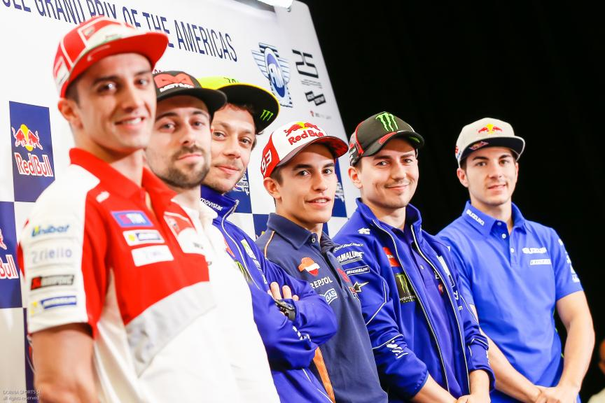 Press conference Red Bull Grand Prix of The Americas