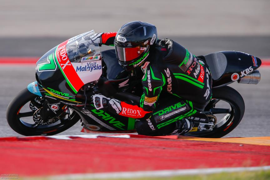 Adam Norrodin, Drive M7 SIC Racing Team, Moto 3, Red Bull Grand Prix of The Americas