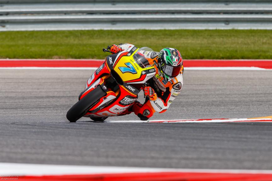 Lorenzo Baldassarri, Forward Team, Moto 2, Red Bull Grand Prix of The Americas