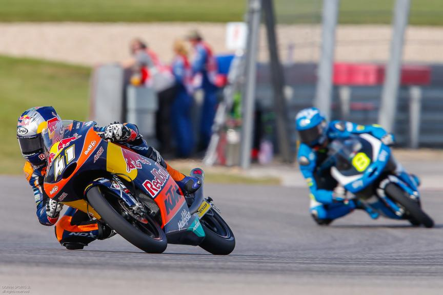 Brad Binder, Red Bull KTM Ajo, Moto 3, Red Bull Grand Prix of The Americas
