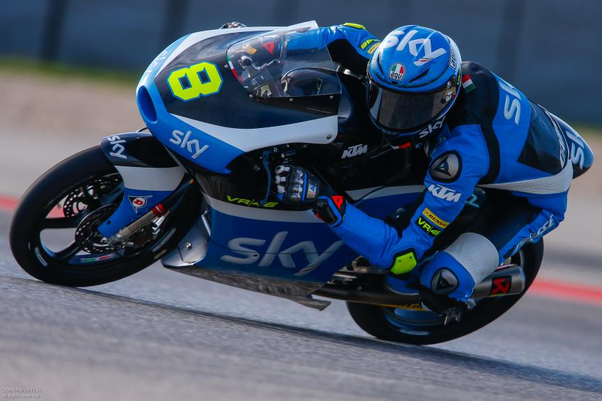 Nicolo Bulega, SKY Racing Team VR46, Moto 3, Red Bull Grand Prix of The Americas