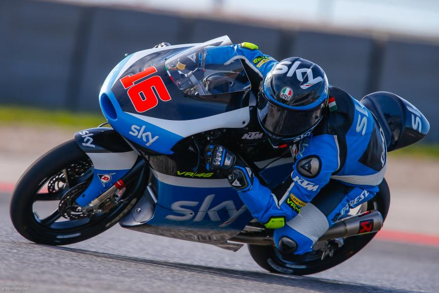 Andrea Migno, SKY Racing Team VR46, Moto 3, Red Bull Grand Prix of The Americas