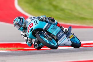 Quartararo marca la pauta del viernes en Moto3™
