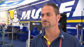 Manager of the Michelin MotoGP programme Piero Taramasso discusses the tyre allocation for the Circuit of the Americas.