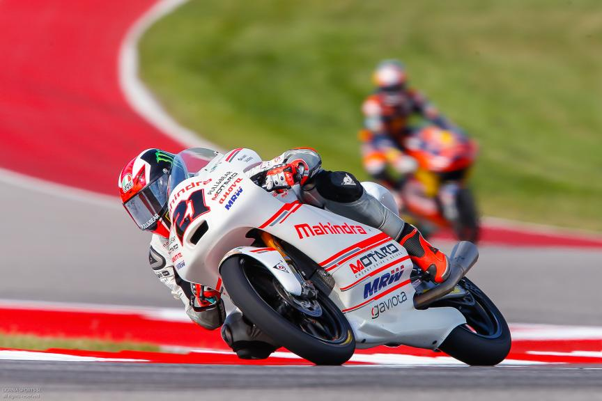 Francesco Bagnaia, ASPAR Mahindra Team Moto3, Moto 3, Red Bull Grand Prix of The Americas