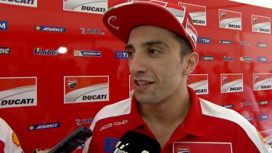 "Iannone: ""I have a very good feeling with the bike"""