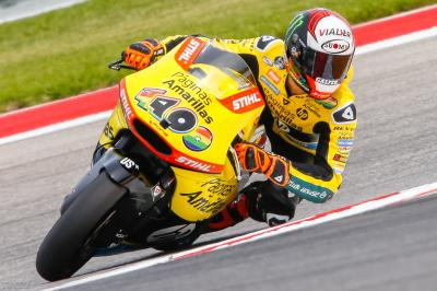 Rins tops Moto2™ Free Practice 1 in America