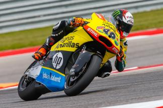 Rins wraps up Friday in first