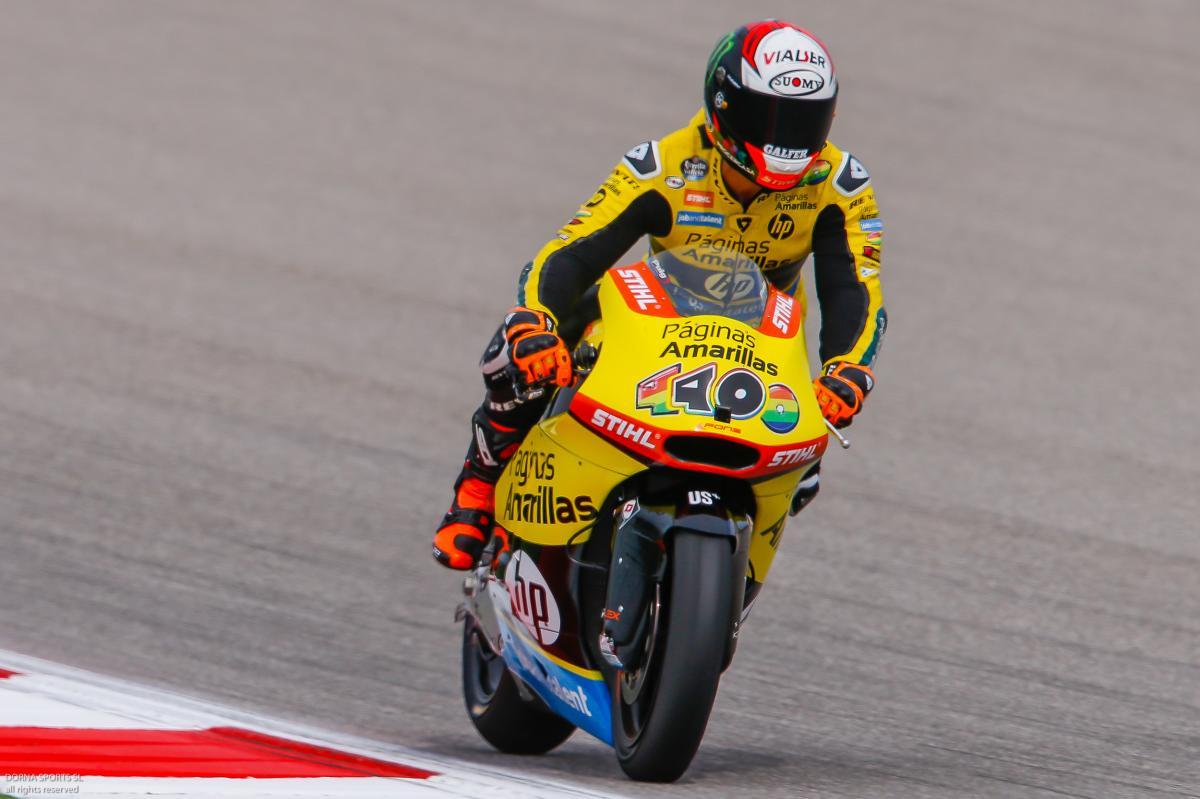 "Rins: ""The truth is I'm having fun"" | MotoGP™"