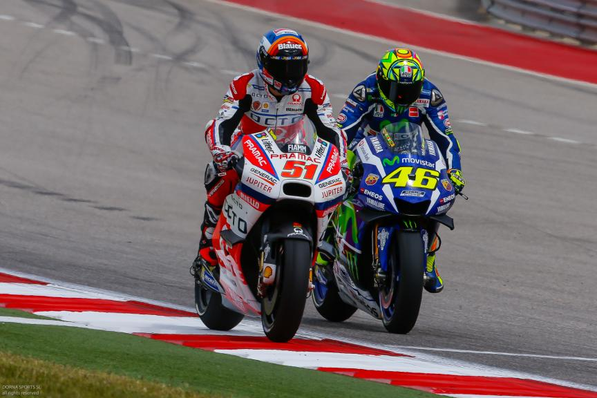 Michele Pirro, OCTO Pramac Yakhnich, Valentino Rossi, Movistar Yamaha MotoGP, Red Bull Grand Prix of The Americas