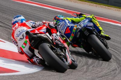 Rossi: «Los neumáticos marcarán la diferencia»