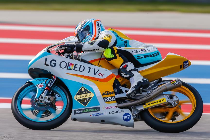 Juanfran Guevara, RBA Racing Team, Moto 3, Red Bull Grand Prix of The Americas