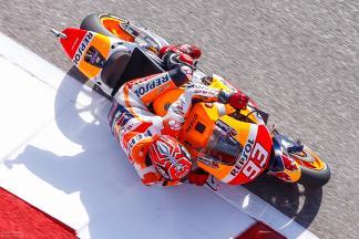 La MotoGP™ in Texas è già nel segno di Marquez