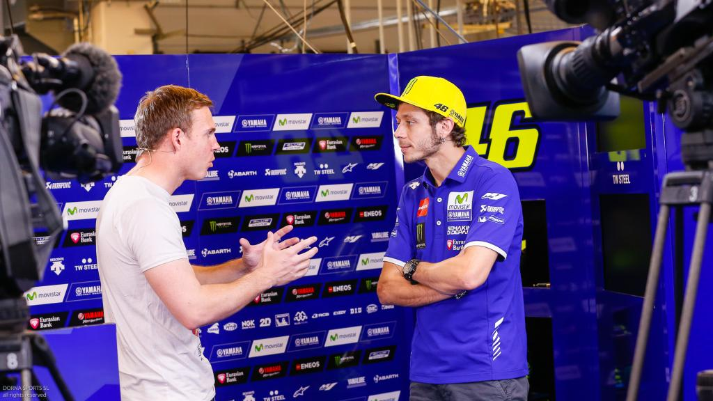 Dylan interview with Rossi