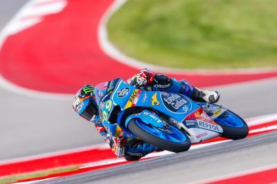 Navarro mène les derniers essais libres au Texas