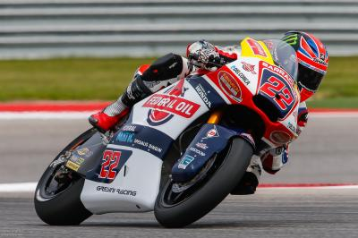 Rain hits Austin as Lowes leads Moto2™ FP3