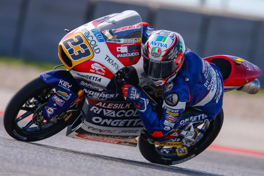 Niccolò Antonelli, Ongetta-Rivacold, Red Bull Grand Prix of The Americas