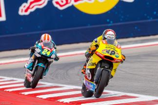 Rins erobert die Moto2™ Pole in Texas