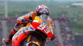 Marc Marquez conquista la sua 32n MotoGP™ pole position and fourth in a row at COTA ahead of Jorge Lorenzo and Valentino Rossi.