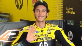 Alex Rins claimed his 4th Moto2™ pole position in Austin by over two-tenths of a second from Johann Zarco and Sam Lowes.