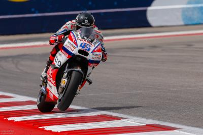 #AmericasGP MotoGP™ qualifying in slow motion detail